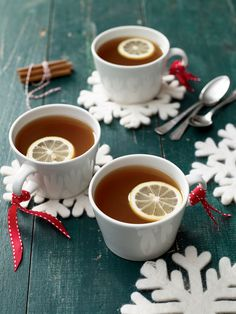 This retro recipe for witches' brew -- a combination of tea, citrus, spice, and spirits that's both warming and refreshing -- has become our go-to party drink.