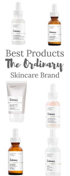This is why my picks for best products from The Ordinary skincare brand are not the very common ones everyone uses and raves about The Ordinary Resveratrol, The Ordinary Lactic Acid, The Ordinary Buffet, The Ordinary Skincare, Alpha Hydroxy Acid, Glycolic Acid, Raves, Best Makeup Products, Beauty Products