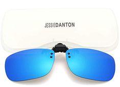 f1659855358 Polarized Clip-on Flip Up Metal Clip Rimless Sunglasses for Prescription  Glasses  Sunglasses