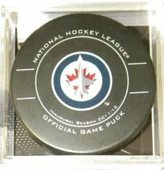 Atlanta Thrashers NHL Hockey Official Game Puck by Inglasco. $10.99. InGlasco NHL Pucks. This NHL Licensed Game Puck is made by The SherWood / InGlasCo Company. This Game Puck Is Great For Using In A Game, Getting Autographs On and Displaying.. Atlanta Thrashers - InGlasco NHL Pucks - Atlanta Thrashers NHL Hockey Official Game Puck - Item: Puck-2