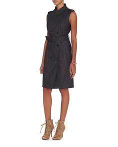 Derek Lam Denim Trench Dress | Shop IntermixOnline.com