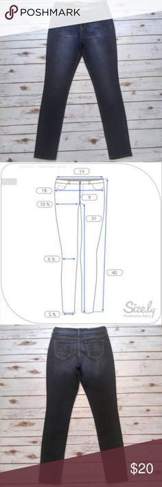 Old Navy Sweetheart Skinny Jeans Old Navy Sweetheart Skinny Jeans  Size 2 in excellent condition . Please see photo for flat lay measurements in inches. I ship the same or next day depending on if the post office has closed yet. Please feel free to ask any questions regarding the item. I offer bundle discounts! Thank you for checking out my closet and happy Poshing! Old Navy Jeans Skinny