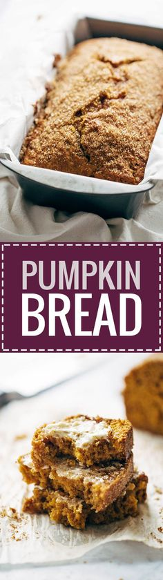 ... on Pinterest | Pumpkin bread, Banana bread and Banana bread recipes