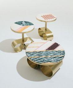 """La Coffee Table """"The Happy Room"""" de Cristina Celestino pour Fendi."""