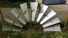 Authentic Windmill; Vintage Windmill; Authentic Windmill Blades; Rustic Windmill; Half Windmill by LynnMichelleDesign on Etsy