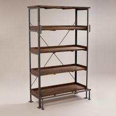 One of my favorite discoveries at WorldMarket.com: Emerson Shelf with Step