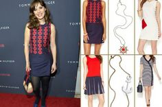 """Zooey Deschanel's """"To Tommy, From Zooey"""" Hilfiger Collab www.HighFashionMagazine.com"""