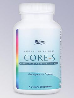 BioPure Core-S is a blend of 6 minerals, 4 vitamins, 1 amino acid and hearb, in a unique combination formulated to support core aspects of human health.