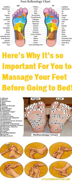 Here's Why It's so Important For You to Massage Your Feet Before Going to Bed!