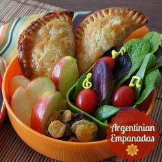 Argentinian Empanadas- I ought to make a bunch of these and have for lunches all week. Except mine will be Chilean. ;)