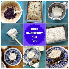 Wild Blueberry Oat Cake by mealmakeovermoms, via Flickr