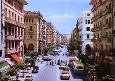 Old Greek, Thessaloniki, Macedonia, Street View, History, Country, Pictures, Memories, Greece