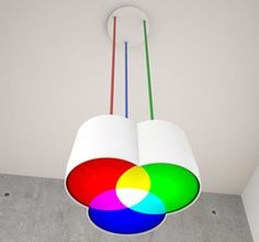 This lamp concept is damn cool.