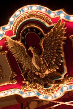 Merry Go round Eagle detail at thelowfive Flickr