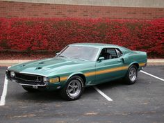 1969 FORD MUSTANG SHELBY GT 500