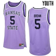 f818923cf95 New Products   NCAA Kansas State Wilcats College Basketball Jerseys