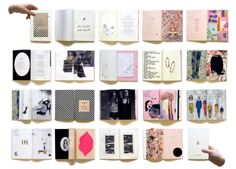 A Tiny Book / marking 5 years of past and present work from Femmes Regionales, a Danish design agency.