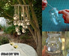 Preparing for a nice date or family dinner this weekend?? Try out these easy to make glass jar hanging chandelier for your courtyard. Just simply attach easily available metal chains to used jam or pickle glass jars. Fill them up with some mud & pebbles. Use Rosemoore Aroma Candles to add special charm to the evening & you are all set for dinner!! Have a great weekend.   Rosemoore India  #soothing #Relax #soul #Home #Fragrance #Decor #RosemooreIndia #RMI #Refreshing #Enticing #Musk #Fresh