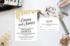 DIY Wedding Invitation template  Editable by Invitationstemplates