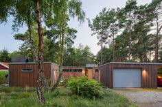 The building is situated a stone's throw from the sea in southern Höllviken in the south of Sweden. The area is rich with tall pine trees, and this plot is n...
