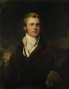 1820 Sir Thomas Lawrence - Portrait of Frederick John Robinson, First Earl of Ripon