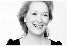 """""""Meryl Streep by Brigitte Lacombe"""" She is so beautiful. I want to like that beautiful at her age."""