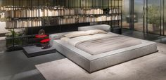 Piero Lissoni Extrasoft bed Living Divani Milan Design Week
