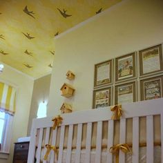 Lovely ceiling for baby to look at!