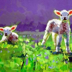 Paul Maloney is an artist who favours working 'plein air', outdoors and from life. 🐑 He offers limited edition fine art prints of his original oil paintings and uses specially pigmented Inks guaranteed to hold colour for at least 100 years. He has a bright, vibrant colour palette. New life and renewal, a gorgeous reminder of what is truly important. #sceal2019    Special offer in September: spend €100, get a €20 voucher.    #Regram via @B2jIoGuDRyq Favours, Oil Paintings, Textile Art, Vibrant Colors, Fine Art Prints, At Least, September, Palette, Outdoors
