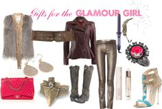 """""""Gifts for the Glamour Girl"""" by westernglamour on Polyvore"""