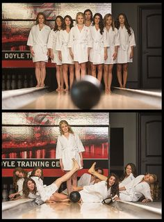 bowling bridesmaids | Flickr - Photo Sharing!