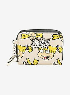 Rugrats Angelica & Cynthia Zipper Wallet, , hi-res Wallet Chain, Wristlet Wallet, Purse Wallet, Reptar Rugrats, Josie And The Pussycats, Cute Wallets, Closet Accessories, Cute Backpacks, Purses And Bags