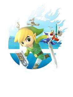 Smash Hype - Toon Link