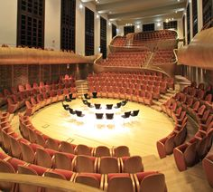Completed in 2013 in Cremona, Italy. Images by Roland Halbe. Conceived as a form of expressing the beauty of instruments, the Auditorium came into being to represent the great musical tradition, but also to...