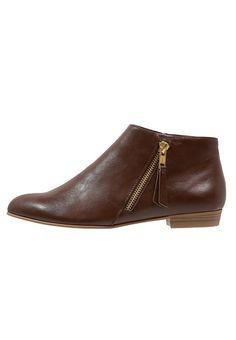 Anna Field - Boots à talons - cognac