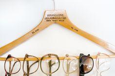 cute glasses organization.