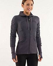 Favorite new studio jacket.  Try it on - you will love the feel. And its reversible!!!