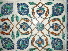 Decorative motif - Istanbul Tile Design, Istanbul, My Photos, Tiles, Ceramics, Decor, Room Tiles, Decorating, Tile