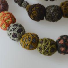 Long collier ou sautoir Sophie Digard crocheté main
