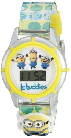 Universal Pictures Kids' MINSKD010 Digital Display Quartz Multi-Color Watch Set