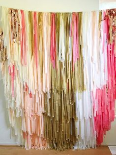Excited to share this item from my shop: 4 Piece- 8 feet Tablecloth Fringe Backdrop Crepe Paper Backdrop, Streamer Backdrop, Tissue Paper Garlands, Fabric Backdrop, Plastic Tablecloth Backdrop, Tablecloth Diy, Picture Backdrops, Wall Backdrops, Photo Booth Backdrop