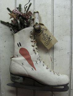 Snowman Ice Skate