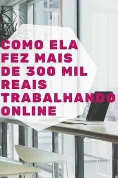 Clique no pin e descubra como ela fez mais de 300 mil reais trabalhando online!  #marketingdigital #trabalharonline #trabalharemcasa #empreendedorismo #empreendedorismoonline #homeoffice #karyneotto #ganhardinheiroonline #ganhardinheiro #afiliados