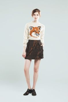 Maison Kitsune 2013-14 AW Collection | Fashionsnap.com