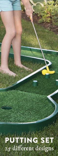 Mini Golf Is As Close As The Next Roomu2014or The Backyard. This Reconfigurable