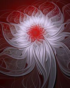 Fractal art by Amanda Moore - Blush