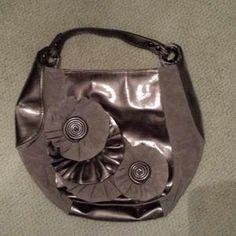 Nine West Handbags - Two toned Flower Purse