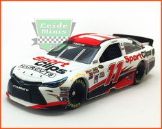 Fabricante Action: Miniatura na escala 1/64. Nascar Sprint Cup. NASCAR AUTHENTICS JOE GIBBS RACING. Sensacional miniatura da principal categoria do Automobilismo Americano, Nascar Sprint Cup.