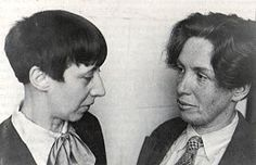 Hannah Höch und Til Brugmann, Berlin 1931