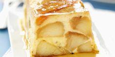 Terrine de pommes au caramel